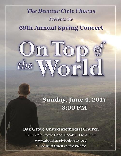 Spring 2016 Concert